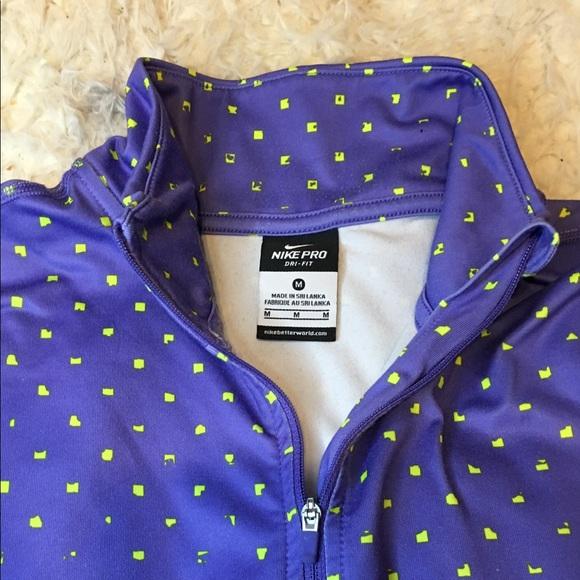 Nike Jackets & Blazers - Nike pro dry fit pullover | Women's Medium |